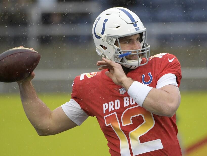 Colts Luck Offseason Football