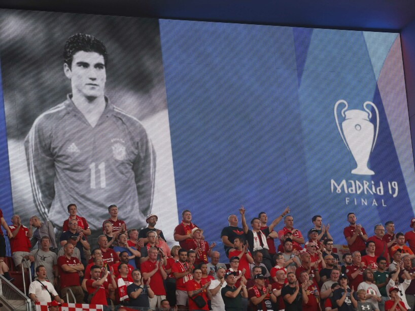 Spain Soccer Champions League Final