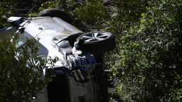 Tiger Woods se encontraba inconsciente en su auto, revela testigo
