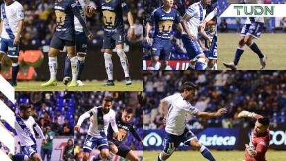 El Puebla se adelantó al minuto 60 con gol de Jorge Zarate, Pumas logró el tanto del empate al minuto 85 tras un gran disparo de Juan Iturbe.