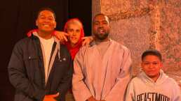 Así cantó Justin Bieber en la iglesia de Kanye West