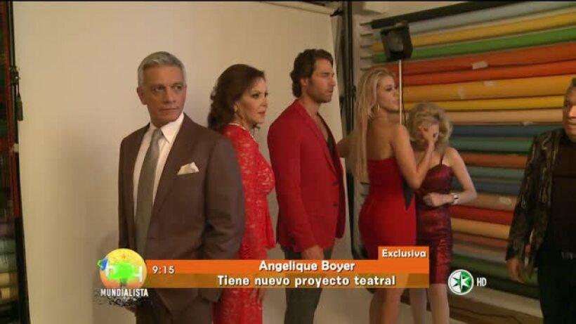 Angelique Boyer aclara rumores