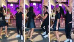Paola Rojas y Emmanuel Palomares le sacan brillo a la pista con tremenda salsa colombiana