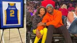 La viuda de Kobe Bryant compartió imágenes del homenaje a su fallecida hija