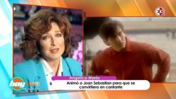 Angélica María recuerda con nostalgia cuando Joan Sebastian le pidió una oportunidad