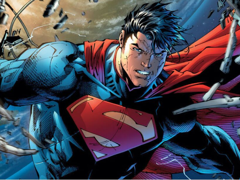 2. SUPERMAN (Clark Ken): Su primera aventura data del lejano 1938, donde se publicó para Action Comics.
