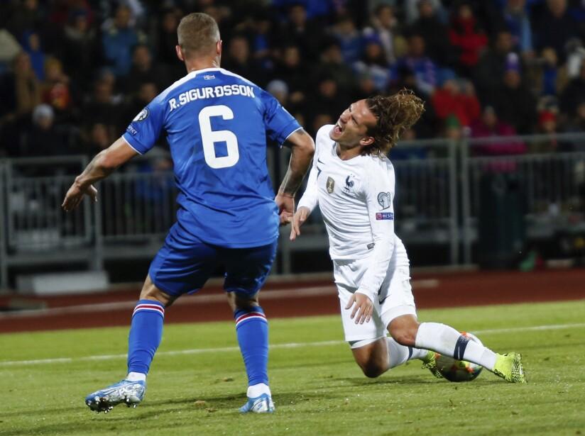Iceland France Euro 2020 Soccer