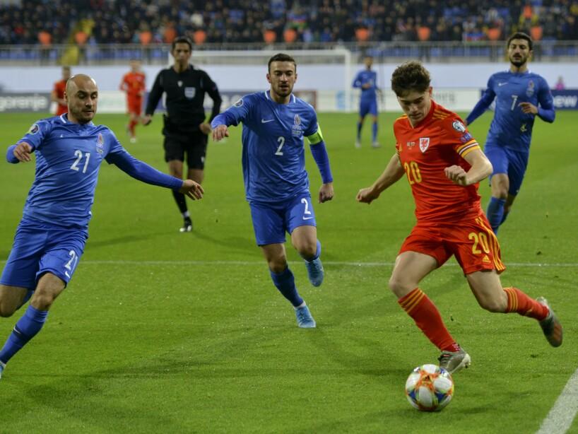 Azerbaijan Wales Euro 2020 Soccer