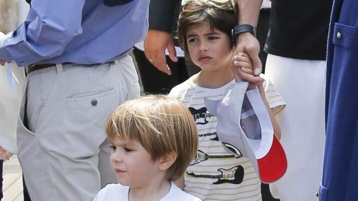 Así de grandes están los hijos de Shakira