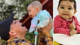 La hija de Eduin Caz ya le dice 'papá' y Daisy Anahy, su mamá, la llama traicionera