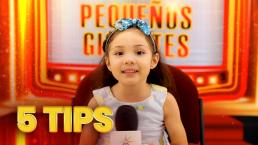 """""""Nunca te rindas"""": Sarilú te anima a ser un Pequeño Gigante con estos 5 divertidos tips"""