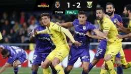 El Leganés sorprende y derrota al Villarreal como visitante