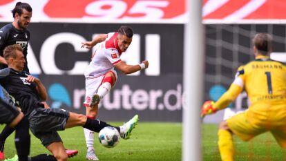 Más resultados de la J30 de la Bundesliga   Mainz suma tres unidades y en Dusseldorf repartieron puntos   En la J30 de la Bundesliga, Frankfurt cayó 0-2 ante Mainz y Hoffenheim igualó a dos tantos ante Dusseldorf.