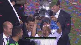 El 'Conejo' levanta el trofeo de la Leagues Cup