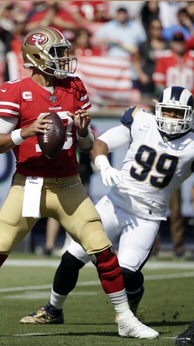 49ers Rams Football