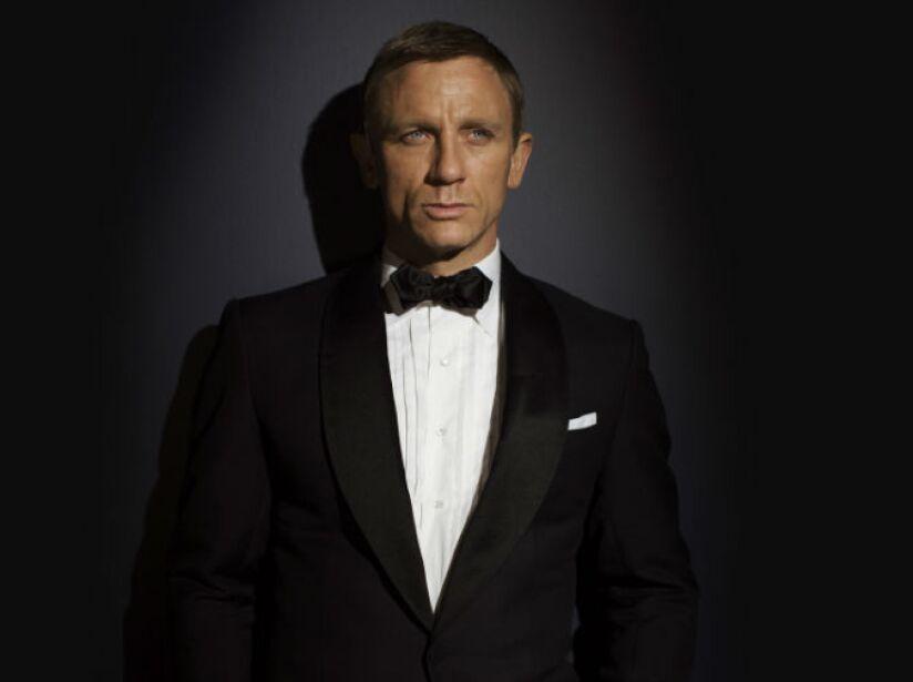 8. Daniel Craig (2006, Actualidad): Es el primer James Bond rubio. Venció a 17 candidatos para encarnar al agente.
