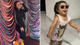 Majo, hija de la Wanders Lover, enternece las redes al bailar al ritmo de 'Muchachita Consentida'