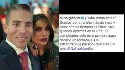 """Esposo de Galilea Montijo le regala de cumpleaños romántico detalle: """"Gracias por otro año más de risas y amor"""""""