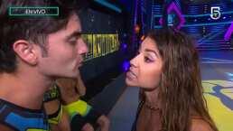 """Así encaró Ferka a Christian Estrada en vivo en Guerreros 2020: """"Yo no soy una mujer que se trate de esa manera"""""""