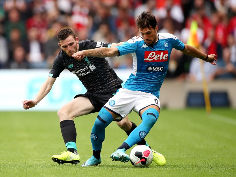 Liverpool v SSC Napoli - Pre-Season Friendly