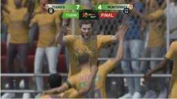 ¡Esto es un eClásico! Tigres vence 7-4 a Rayados y Cantú pierde el invicto