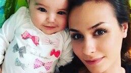 Odalys Ramírez presume 'baby bump' con tierno video junto a su hija