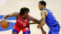 76ers derrota a los Mavs y lidera el este de la NBA