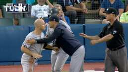Brett Gardner perdió la cabeza tras ser expulsado