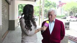 """José Carlos Ruíz interpreta a un hombre """"pegalón"""""""