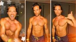 """Sebastián Rulli demuestra en TikTok que sus clases de baile han rendido frutos: """"Me lanzo con todo"""""""