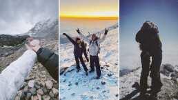Juanpa Zurita y Macarena Achaga presumen su amor al escalar la montaña más alta de México