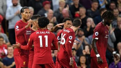 Los Reds superaron 4-1 a los recién ascendidos en el arranque de la Premier 2019-20.