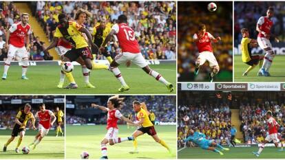 El empate del Arsenal 2-2 en casa del Watford.
