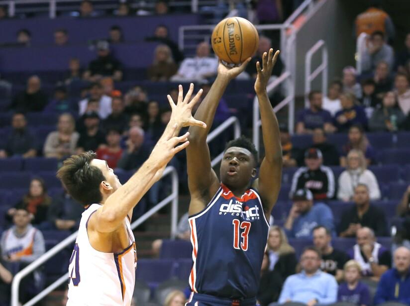 Phoenix Suns 132-140 Washington Wizards
