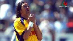 Se cumplen 20 años del debut y hat-trick de Iván Zamorano con América