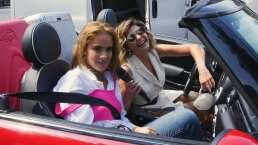 ¡Andrea y Katya son perseguidas por la policía! Así grabaron Itatí Cantoral y Gala Montes esta escena