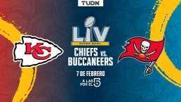 Chiefs de Mahomes y Buccaneers de Brady en el Super Bowl LV