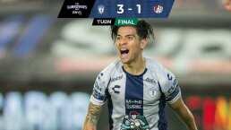Pachuca hunde al Atlético de San Luis de la mano de Dávila