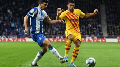 David López (23') adelantó a los locales pero Suárez (50') y Vidal (59') anotaron para los visitantes y cuando lo ganaban Lei Wu igualó la pizarra (88').