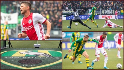 El Ajax se enfrenta contra el equipo número 16 en la tabla de la Eredivisie.