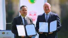 ¡Día histórico! Liga MX y Secretaría de Hacienda firman convenio