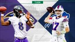 Duelo de poder a poder entre Ravens y Bills