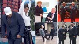 ¡Adiós a los besos y abrazos!: Realeza, presidentes y famosos crean ingeniosos saludos ante coronavirus