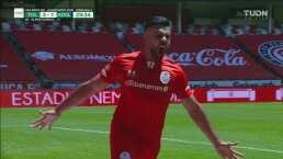 ¡Gol de VAR! El video arbitraje da por bueno el 2-1 para Toluca