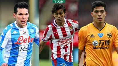 Los futbolistas mexicanos más caros en la actualidad