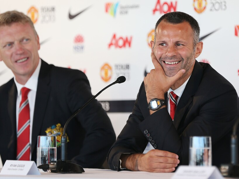 Manchester United Arrival Press Conference
