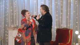 Mijares y su hija Lucerito reaparecen cantando juntos con emotivo tema navideño 'Mi Universo'