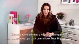 La confianza de ser única dirige a Aline Bortoloti al éxito