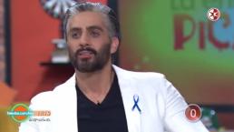 A Marco Méndez, no le quedó de otra más que que dar una entrevista picancte