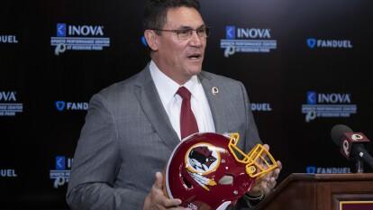 Ron Rivera llega a los Washington Redskins como head coach para los próximos cinco años.